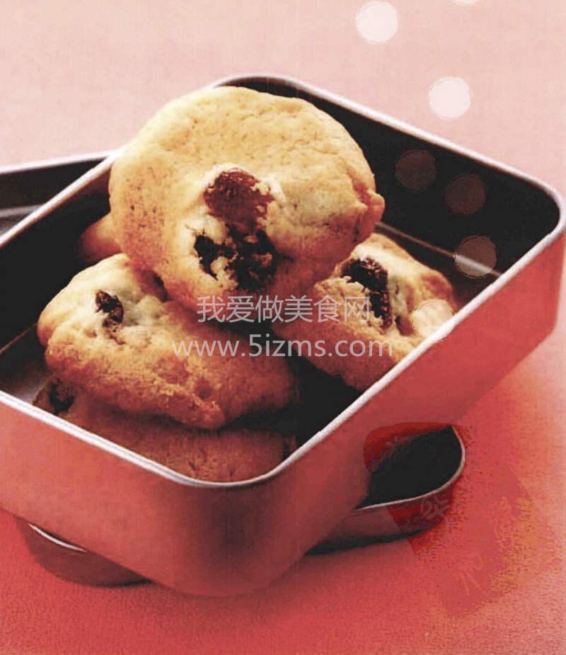 烘焙入门烘焙食谱之白葡萄干饼干