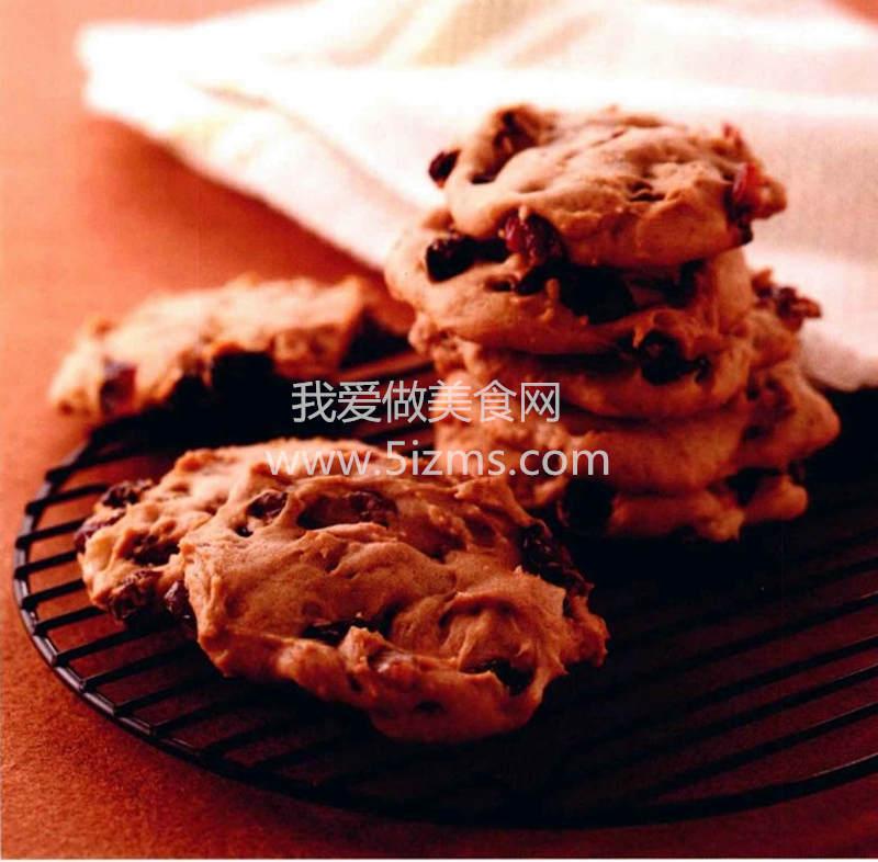 烘焙入门之蓝莓干果饼干