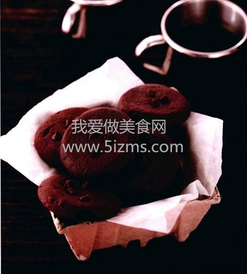 烘焙食谱之巧克力豆饼
