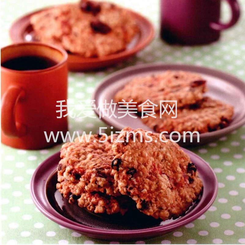 烘焙入门烘焙食谱之夏日莓果燕麦饼