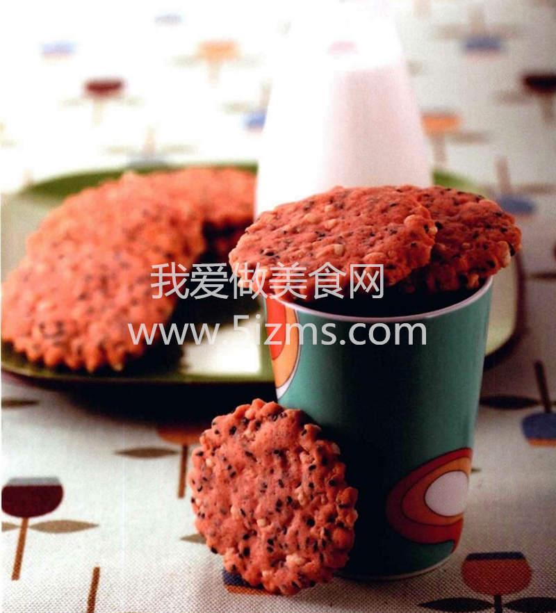 红曲米香饼