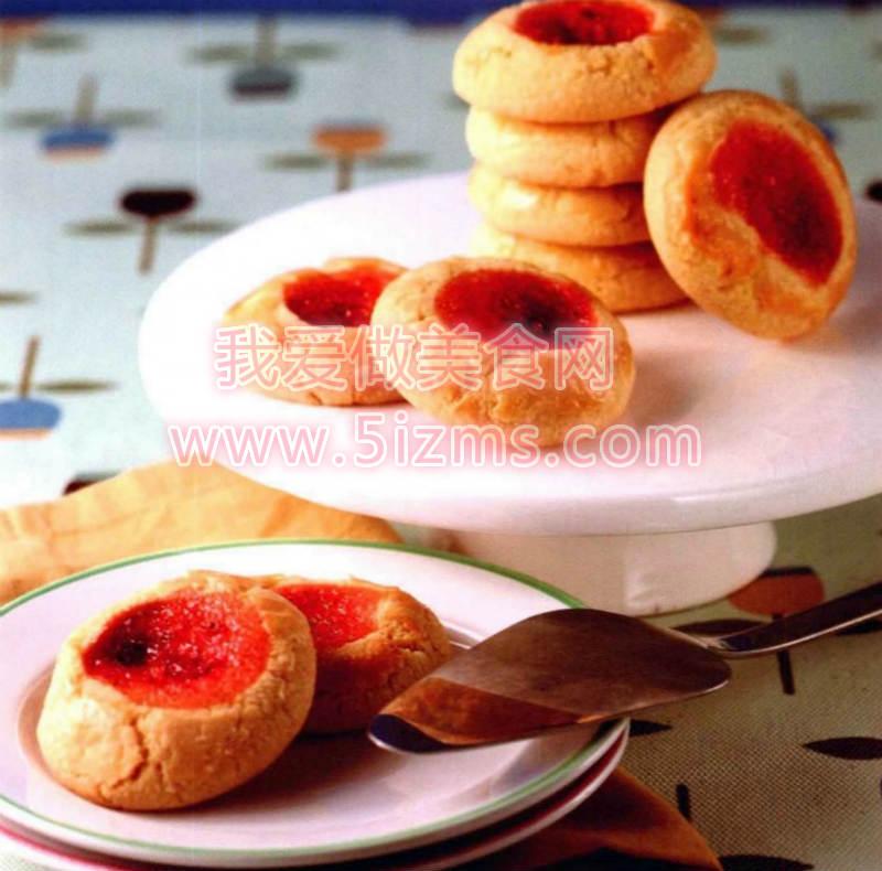 草莓果酱饼