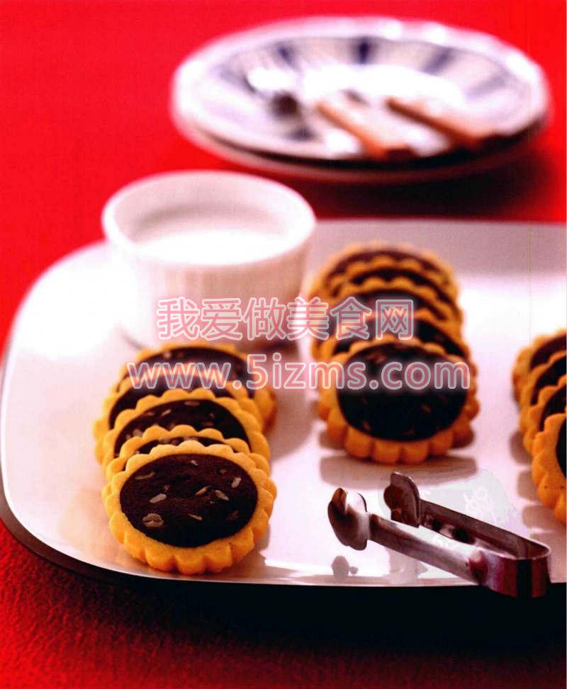 烘焙入门烘焙食谱之向日葵饼干