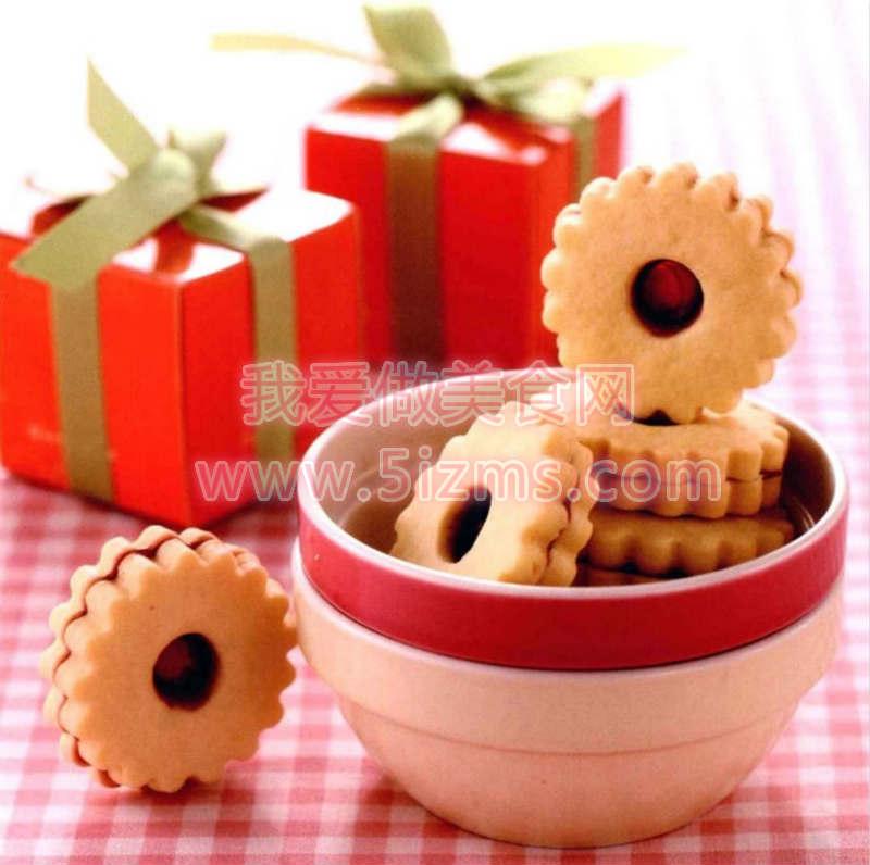 烘焙食谱之QQ糖饼干