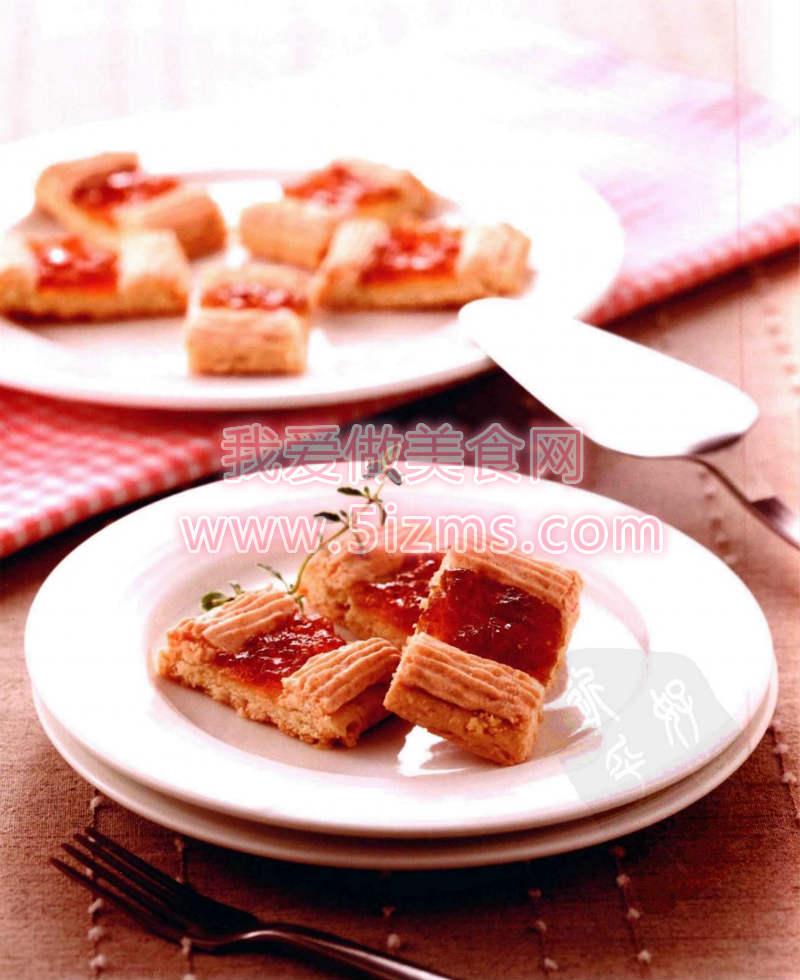 烘焙食谱之菠萝达克斯饼