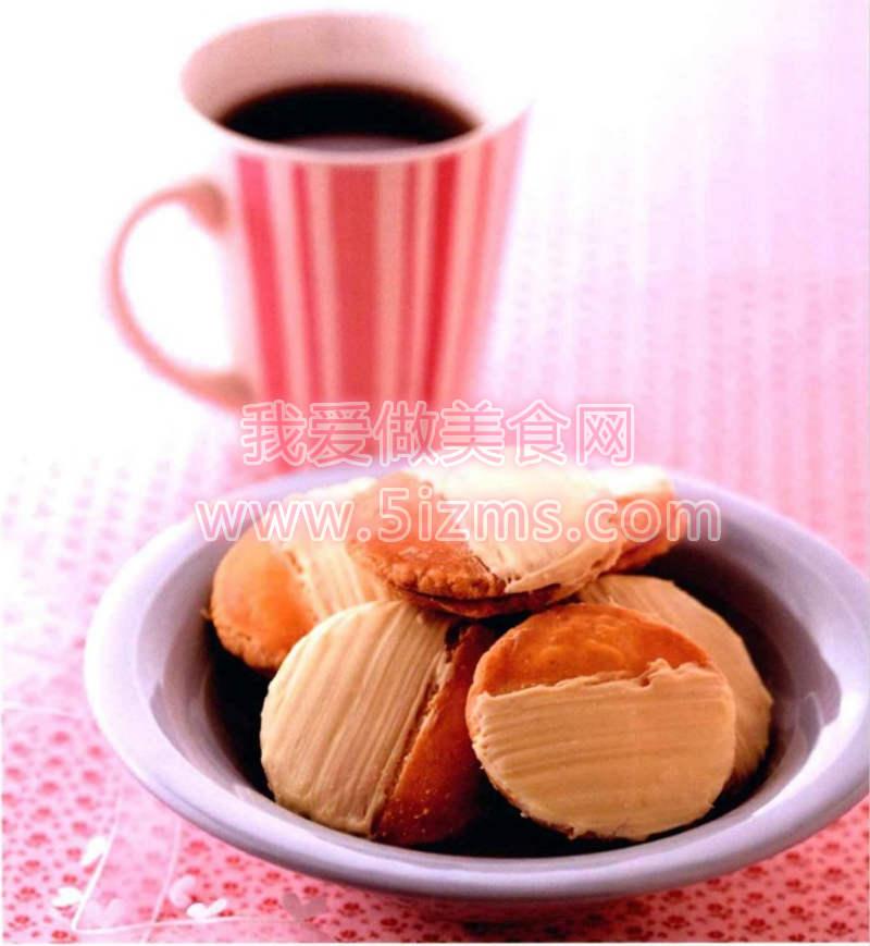 烘焙入门烘焙食谱之枫糖白巧夹心