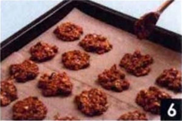 烘焙入门烘焙食谱之燕麦红糖饼干制作步骤6