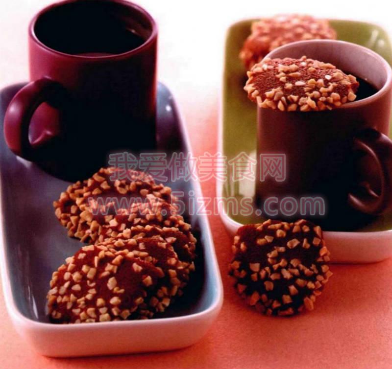 烘焙入门烘焙食谱之咖啡薄饼