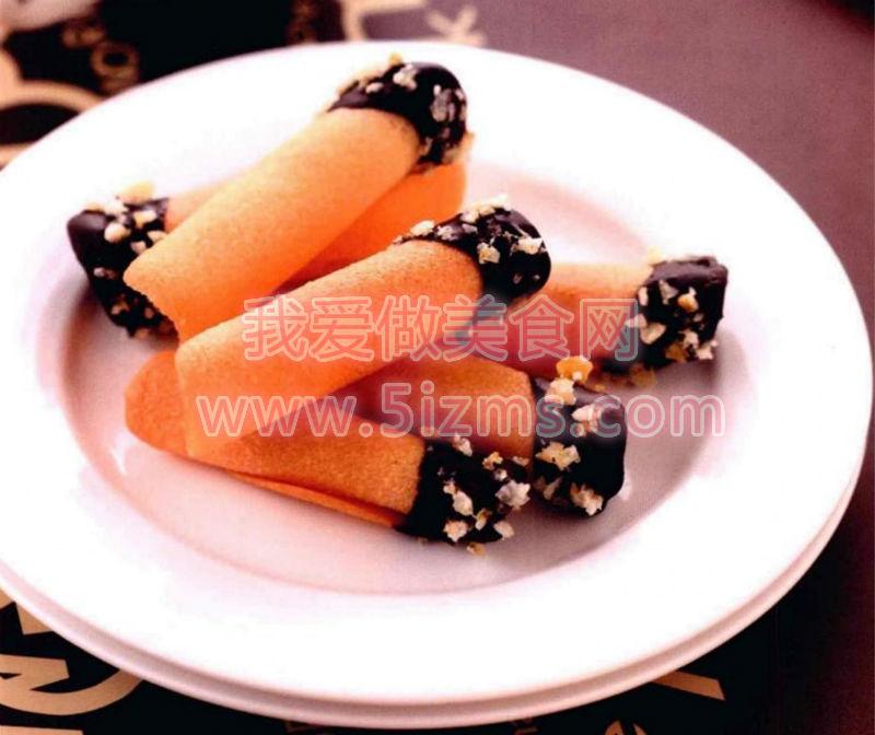 烘焙入门烘焙食谱之橘子香卷