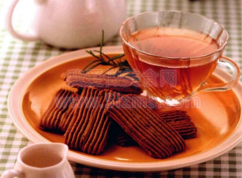 烘焙食谱之红茶饼干