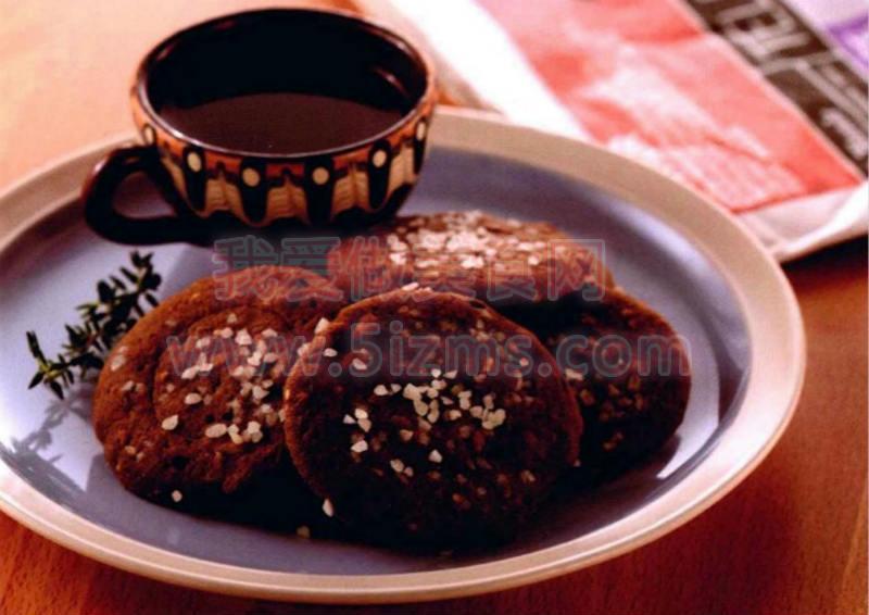 烘焙入门烘焙食谱之红糖姜味杂粮饼