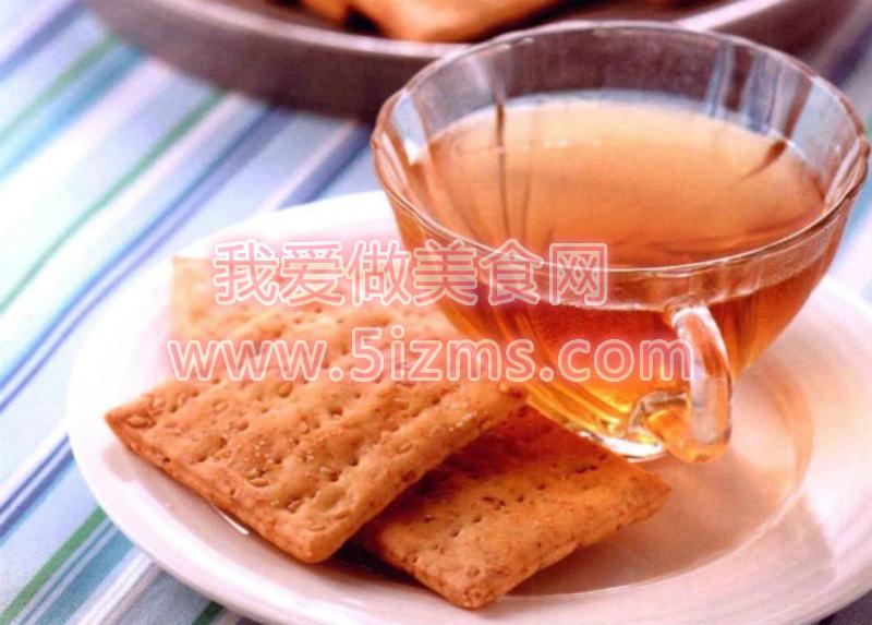 烘焙入门烘焙食谱之胚芽苏打饼干