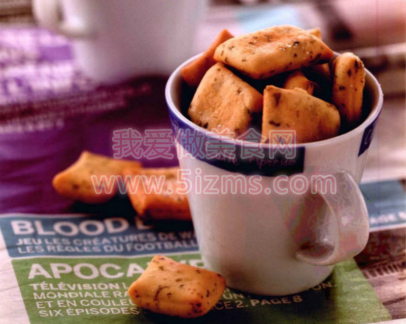 烘焙入门烘焙食谱之调味海苔小饼干