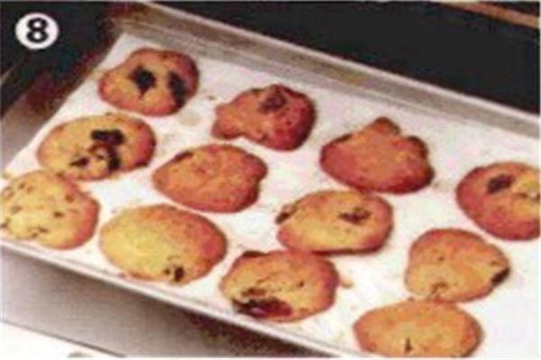 烘焙入门烘焙食谱之开心果樱桃酥饼制作步骤8