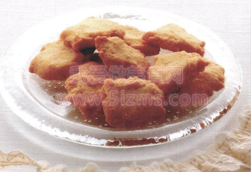 烘焙入门烘焙食谱之奶香酥饼