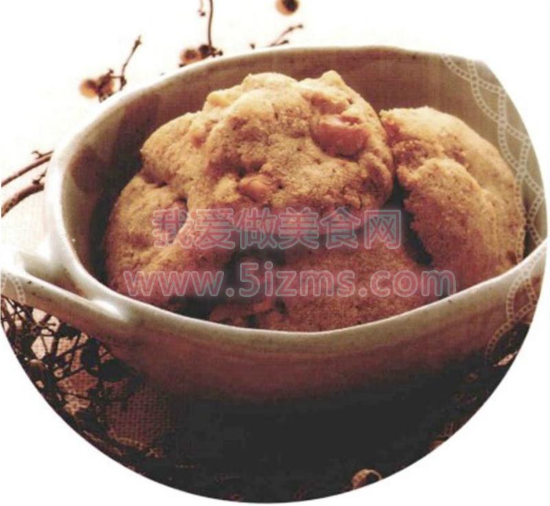 烘焙入门烘焙食谱之全麦核桃饼干