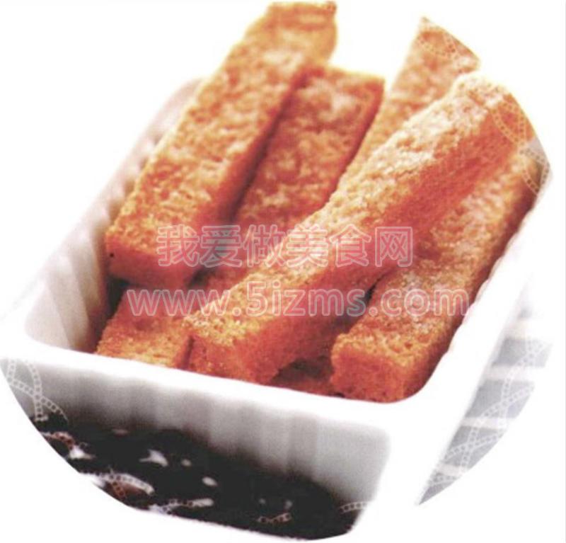 烘焙入门烘焙食谱之砂糖土司片