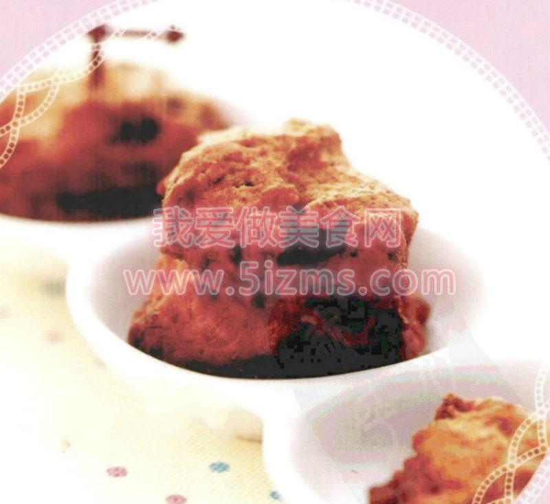 烘焙入门烘焙食谱之匈牙利红椒蜜枣饼干