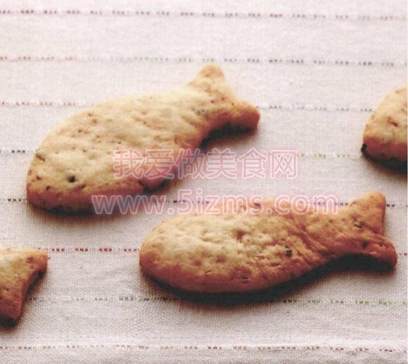 烘焙入门之鲑鱼松饼干