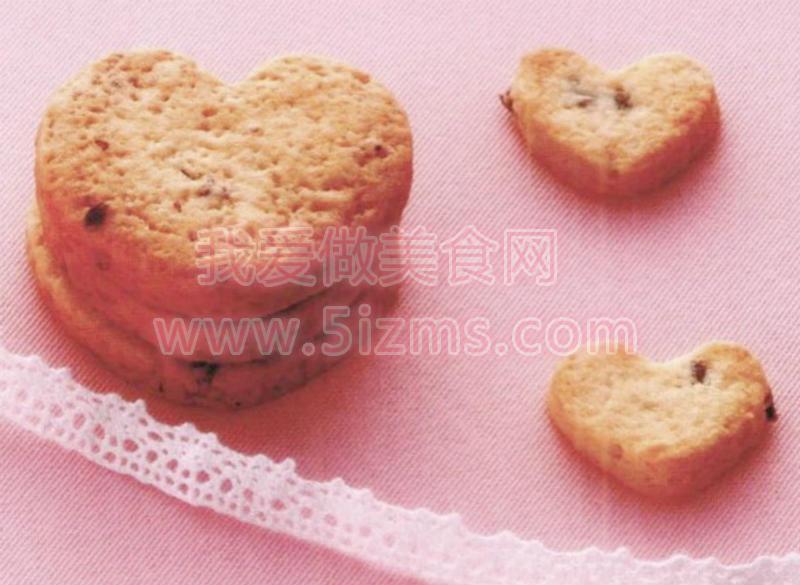 烘焙入门烘焙食谱之玫瑰/薰衣草饼干