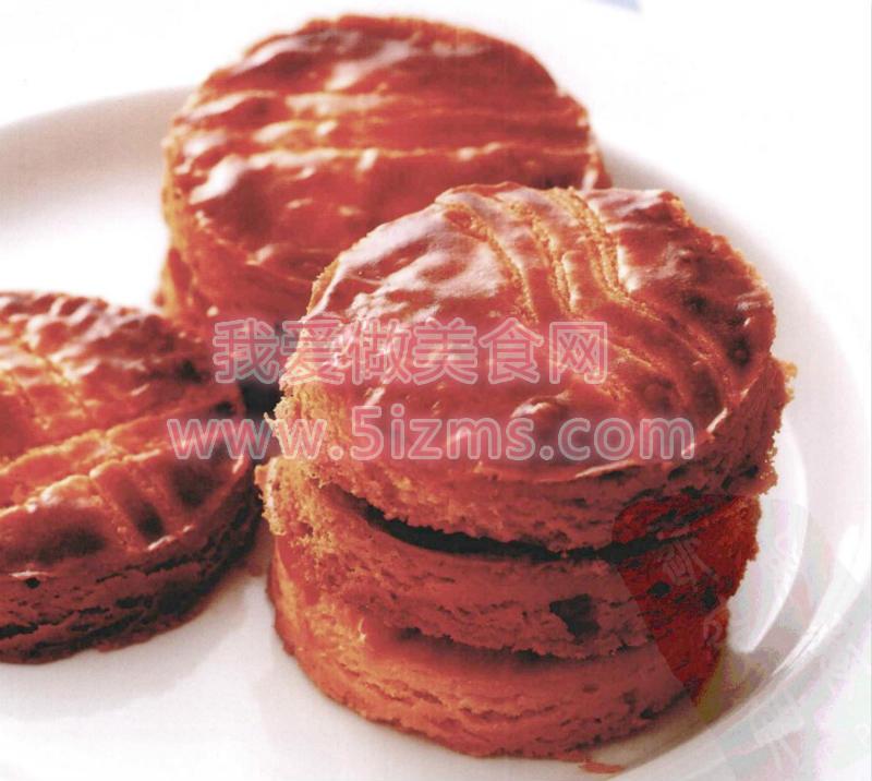 烘焙入门烘焙食谱之布烈塔尼酥饼