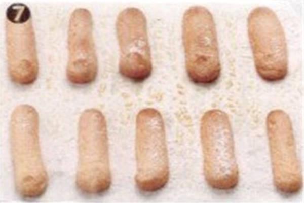 烘焙入门烘焙食谱之手指饼干制作步骤7