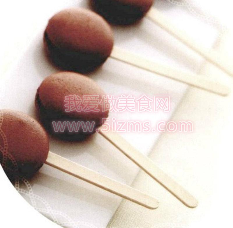 烘焙入门烘焙食谱之巧克力马卡龙