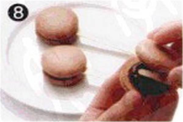 烘焙入门烘焙食谱之巧克力马卡龙制作步骤8