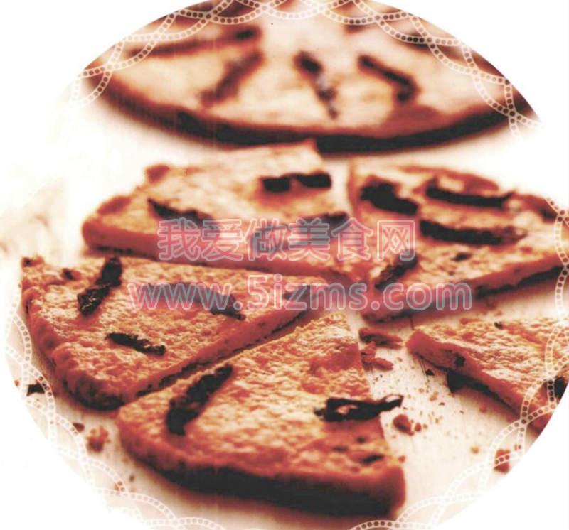 罗勒西红柿脆饼