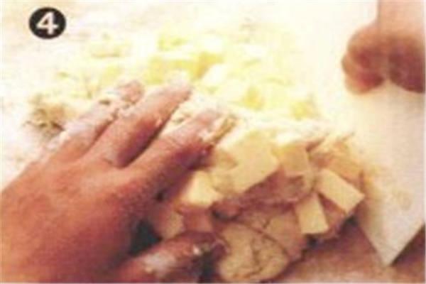 烘焙入门烘焙食谱之速成起酥皮制作方法制作步骤4