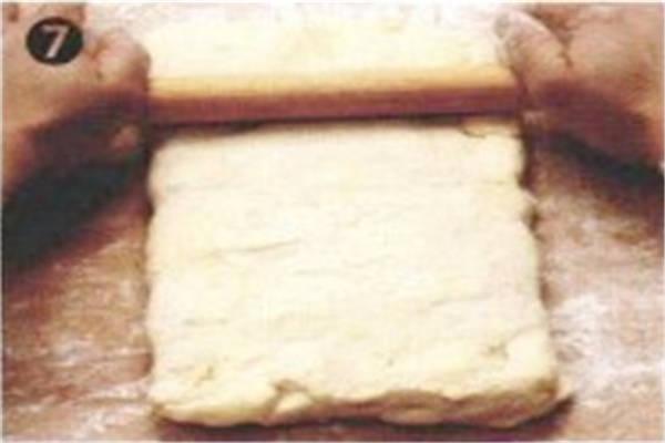 烘焙入门烘焙食谱之速成起酥皮制作方法制作步骤7