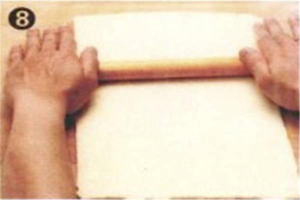 烘焙入门烘焙食谱之速成起酥皮制作方法制作步骤8