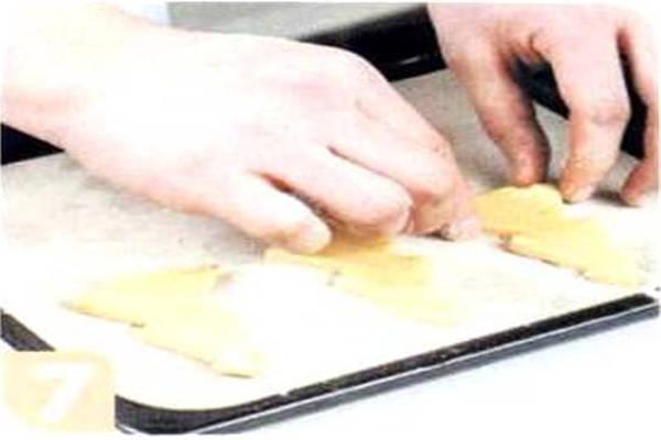 烘焙入门烘焙食谱之杏仁饼干制作步骤7