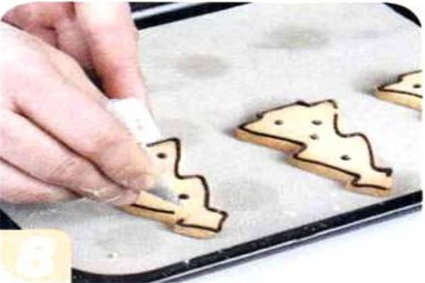 烘焙入门烘焙食谱之杏仁饼干制作步骤8
