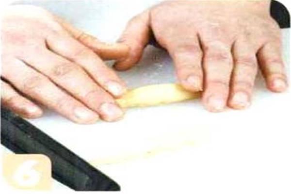 烘焙入门烘焙食谱之核桃饼干制作步骤6