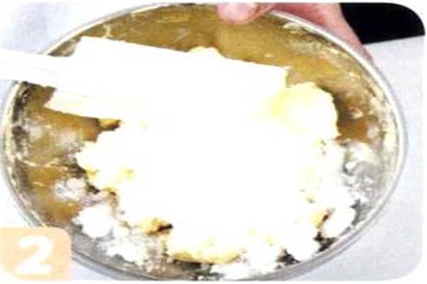 烘焙入门烘焙食谱之焦糖香蕉饼干制作步骤2