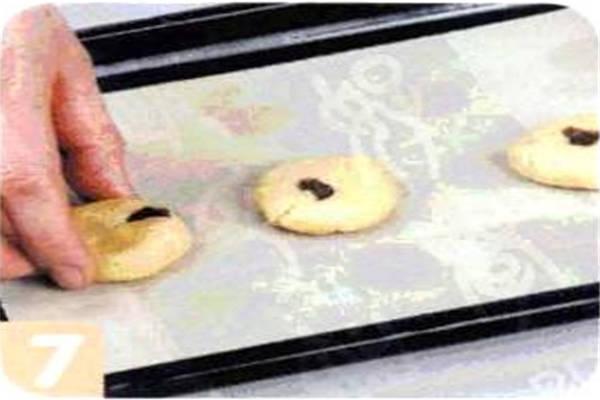 烘焙入门烘焙食谱之焦糖香蕉饼干制作步骤7