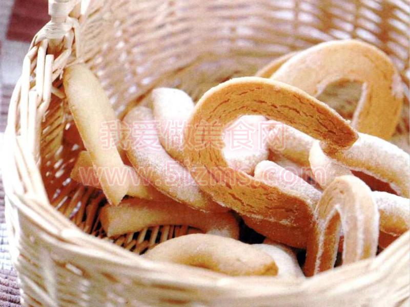 烘焙入门烘焙食谱之玉米月牙饼干