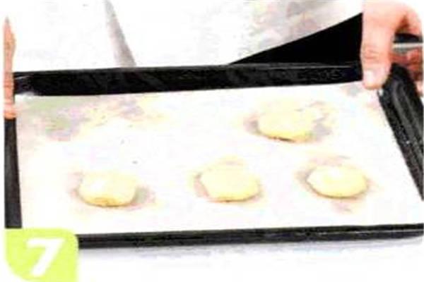 烘焙入门烘焙食谱之奶油芝士巧克力饼干制作步骤7