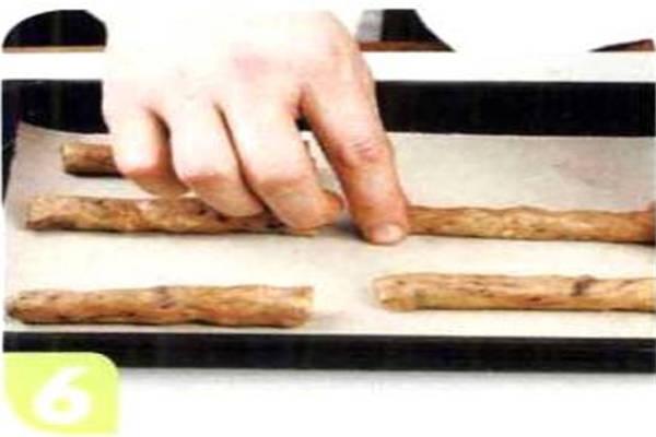 烘焙入门烘焙食谱之巧克力核桃饼干制作步骤6