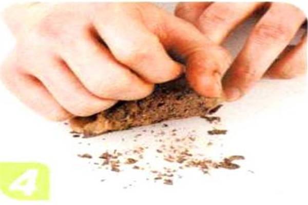 烘焙入门烘焙食谱之黑巧克力球制作步骤4
