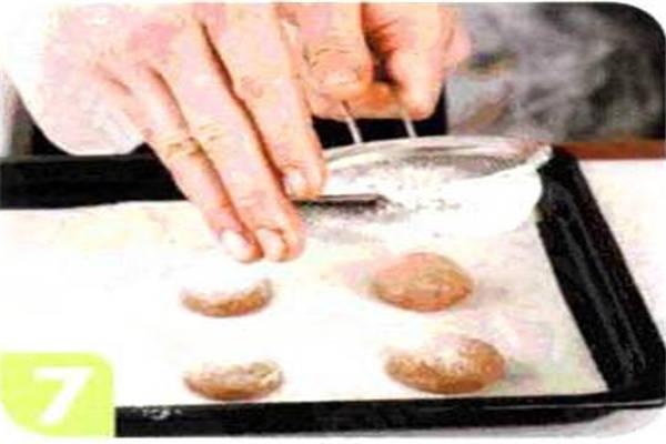 烘焙入门烘焙食谱之黑巧克力球制作步骤7