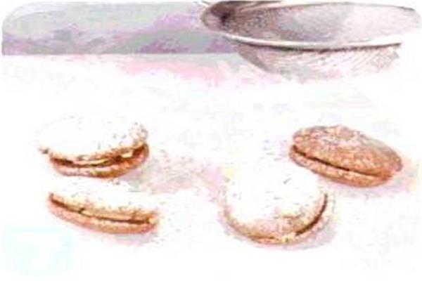 烘焙入门烘焙食谱之巧克力芝士夹心饼制作方法制作步骤7
