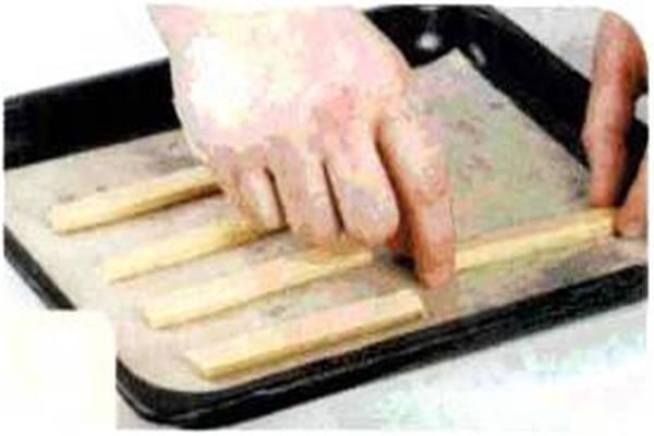 烘焙入门烘焙食谱之香草棒制作步骤5