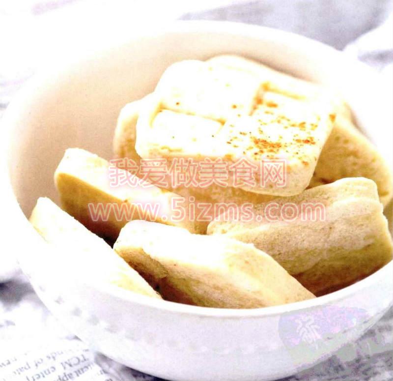 烘焙入门烘焙食谱之辣味芝士饼干