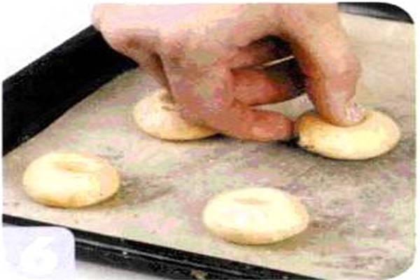 烘焙入门烘焙食谱之南瓜饼干制作步骤6