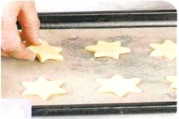 烘焙入门烘焙食谱之六角星饼干制作方法制作步骤6