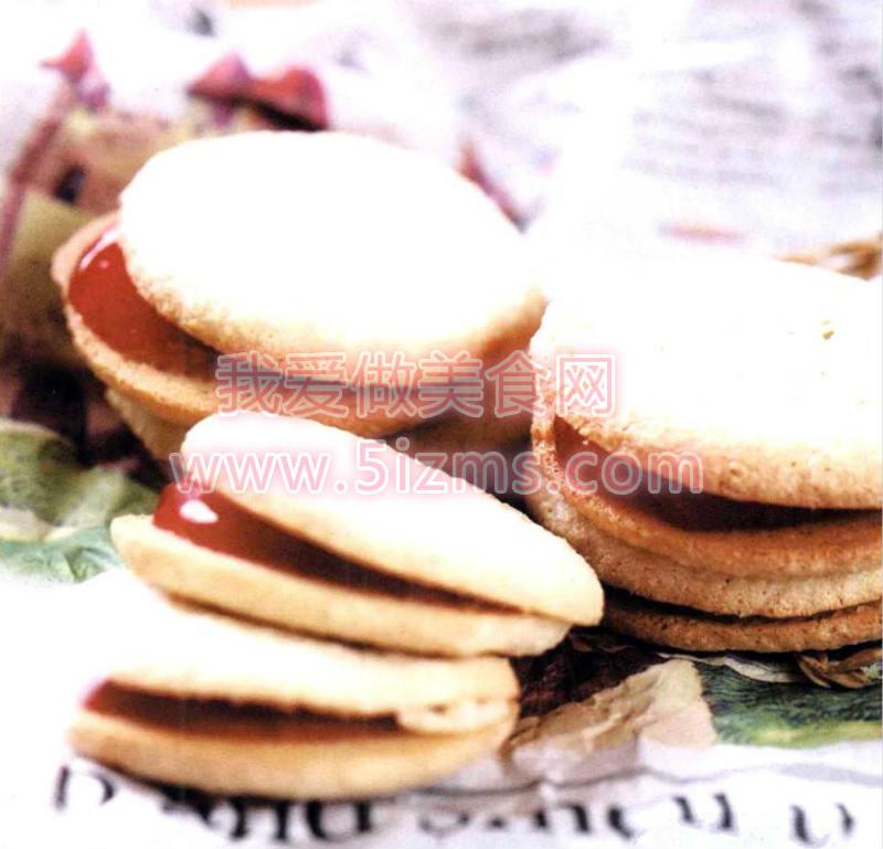 烘焙入门烘焙食谱之果酱饼干