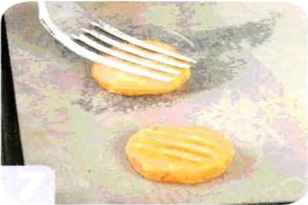 烘焙入门烘焙食谱之胡萝卜饼干制作步骤7