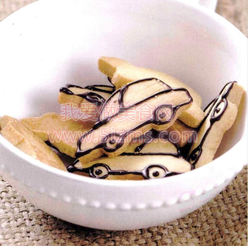 烘焙入门烘焙食谱之小汽车饼干